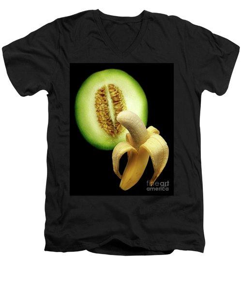 Banana And Honeydew Men's V-Neck T-Shirt
