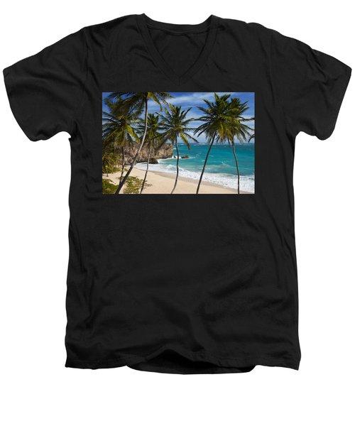 Barbados Beach Men's V-Neck T-Shirt