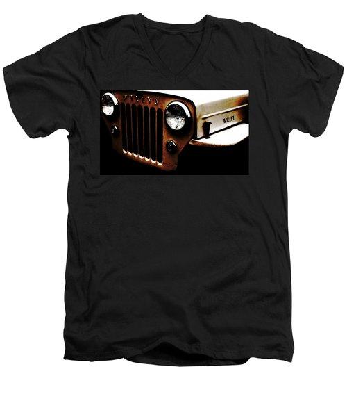 Bare Bones Rusty Men's V-Neck T-Shirt