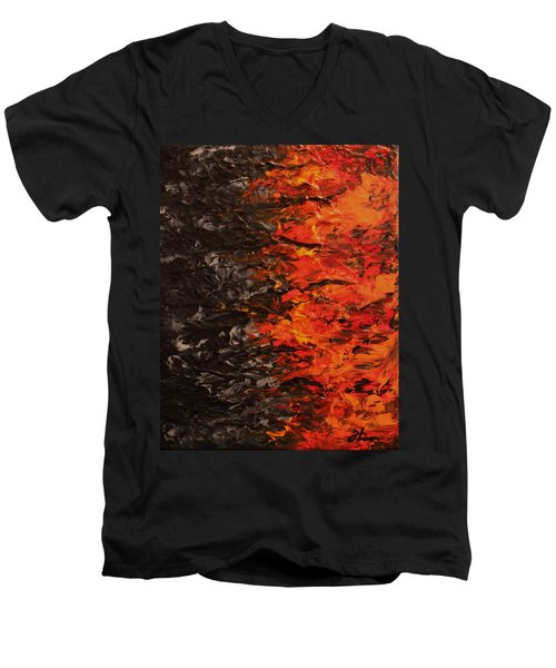 Battlefield Men's V-Neck T-Shirt
