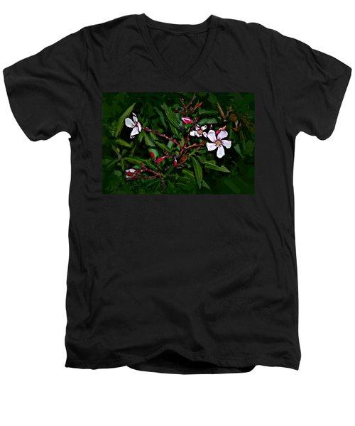 Bay Beauty Men's V-Neck T-Shirt