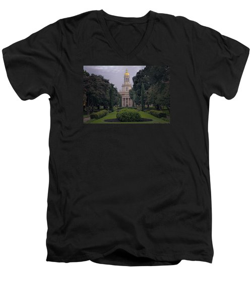 Baylor University Icon Men's V-Neck T-Shirt