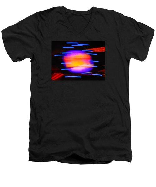 Super Nova Men's V-Neck T-Shirt