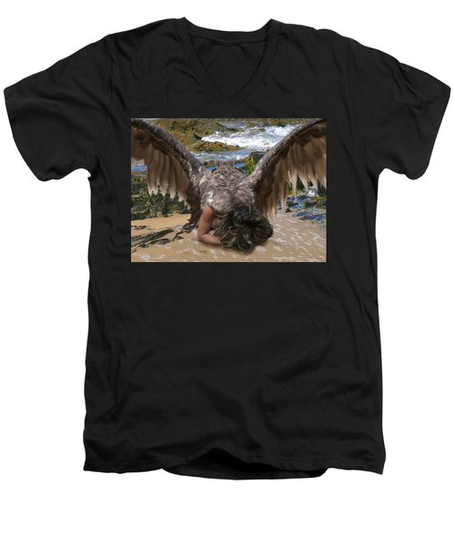 Be Ready For The Rapture Men's V-Neck T-Shirt