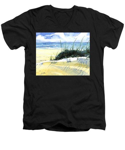 Beach Dunes Men's V-Neck T-Shirt