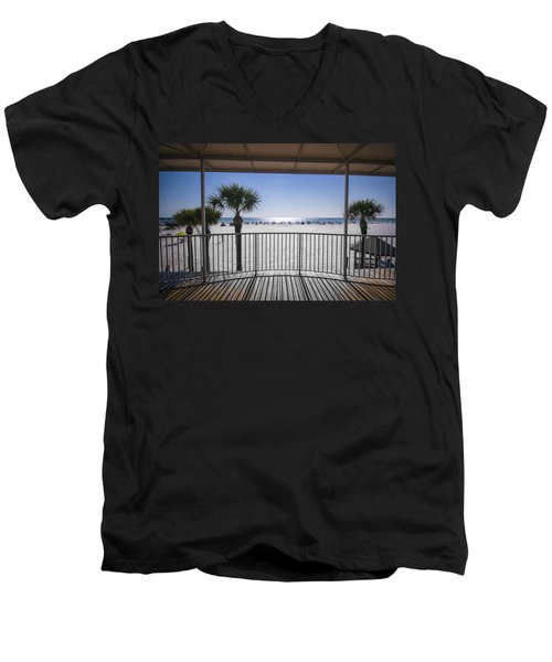 Beach Patio Men's V-Neck T-Shirt