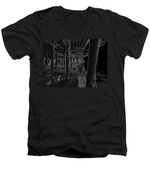 Beach Pier  Underworld  Men's V-Neck T-Shirt