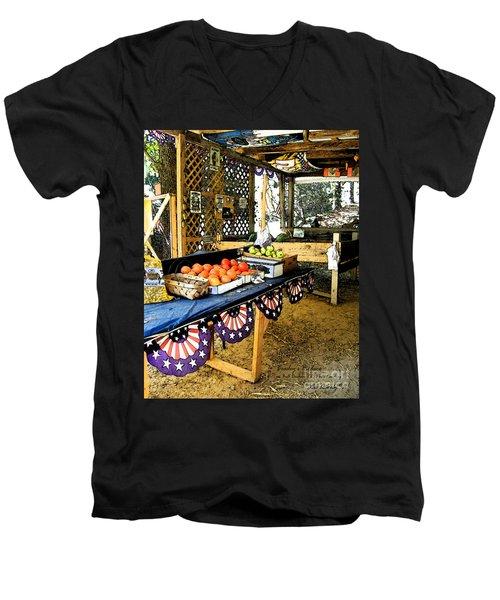 Beasley's Produce Men's V-Neck T-Shirt