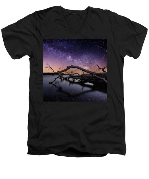Beautiful Chaos Men's V-Neck T-Shirt