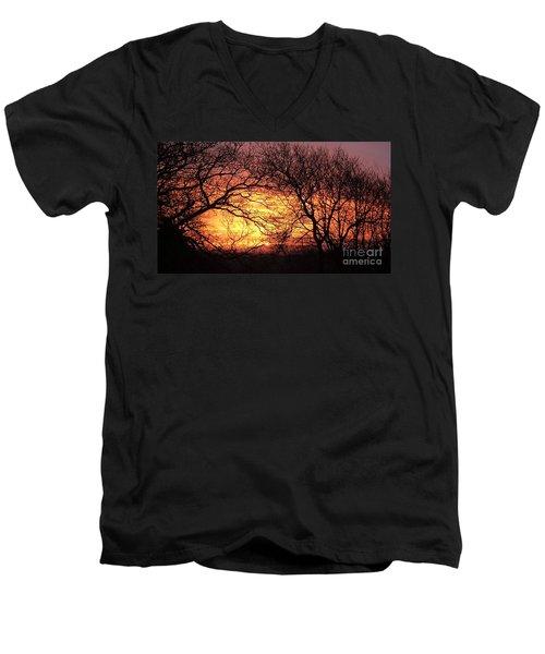 Beautiful Dawn Men's V-Neck T-Shirt