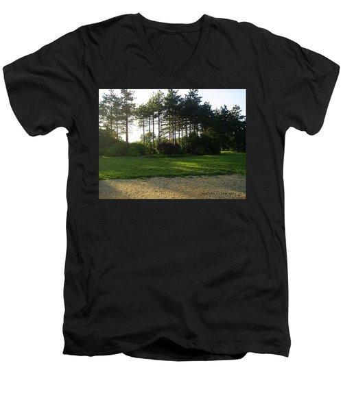 Men's V-Neck T-Shirt featuring the photograph Beautiful Earth by Verana Stark