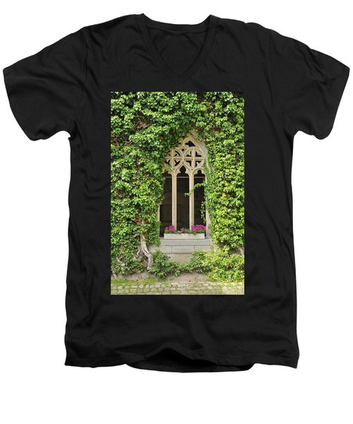 Beautiful Old Window Men's V-Neck T-Shirt