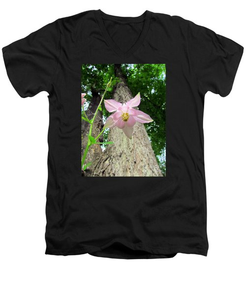 Beauty From Below Men's V-Neck T-Shirt