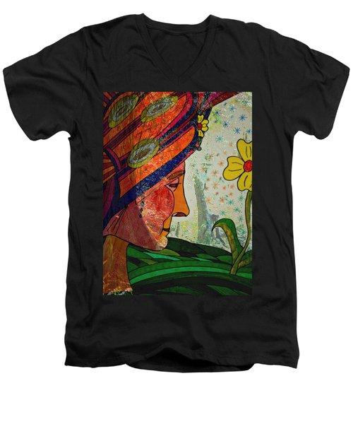 Becoming The Garden - Garden Appreciation Men's V-Neck T-Shirt