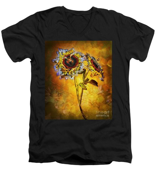 Bees To Honey Men's V-Neck T-Shirt