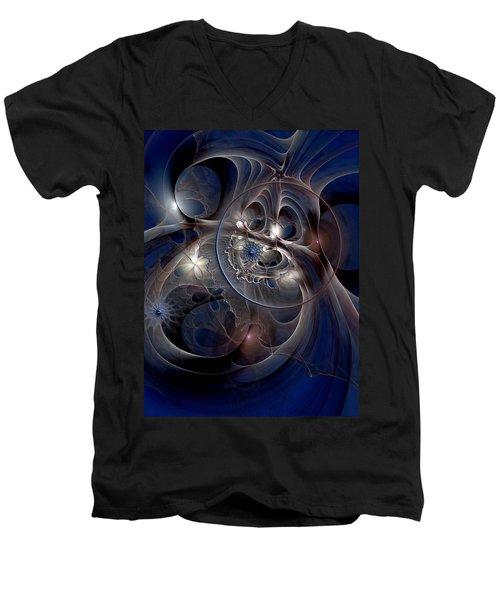 Beguiled At Twilight Men's V-Neck T-Shirt by Casey Kotas