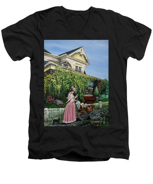 Behind The Garden Gate Men's V-Neck T-Shirt
