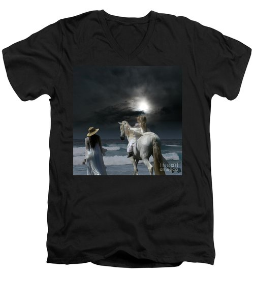 Beneath The Illusion In Colour Men's V-Neck T-Shirt