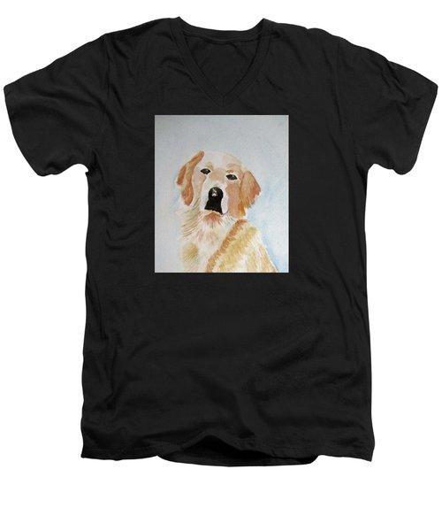 Best Friend 2 Men's V-Neck T-Shirt by Elvira Ingram