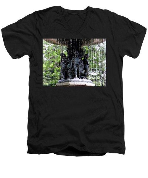 Bethesda Boys Men's V-Neck T-Shirt