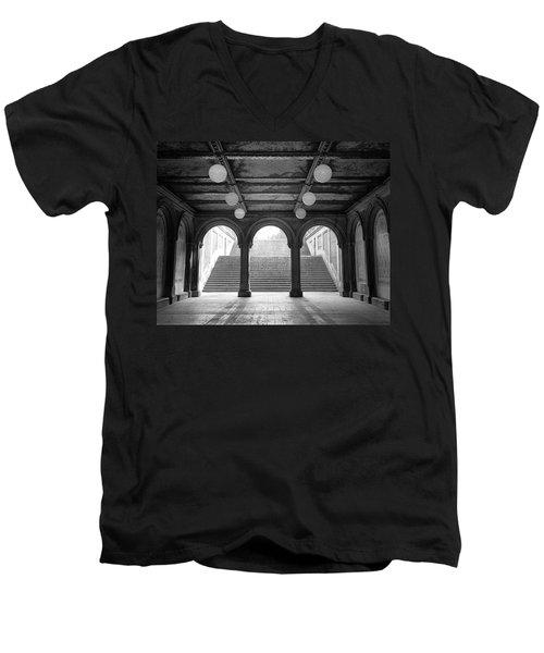 Bethesda Passage Central Park Men's V-Neck T-Shirt