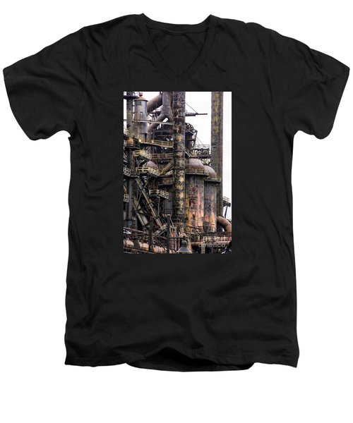 Bethlehem Steel Series Men's V-Neck T-Shirt
