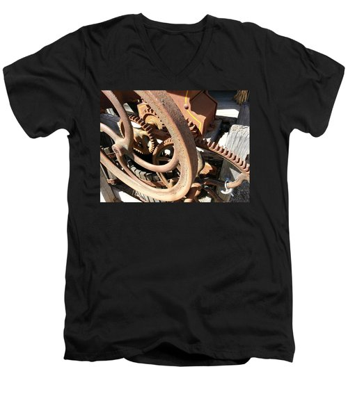 Men's V-Neck T-Shirt featuring the photograph Better Days by Caryl J Bohn