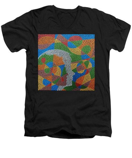 Better Half Men's V-Neck T-Shirt