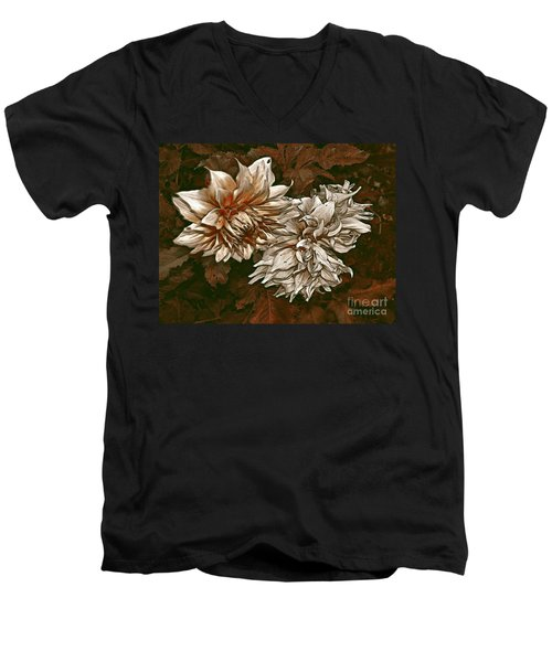 Men's V-Neck T-Shirt featuring the photograph Betty's Beauty 1 by Don Wright