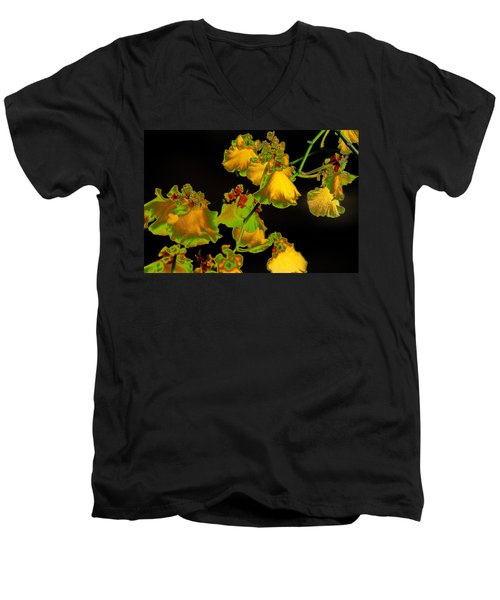 Men's V-Neck T-Shirt featuring the photograph Beyond Beyond by Ira Shander