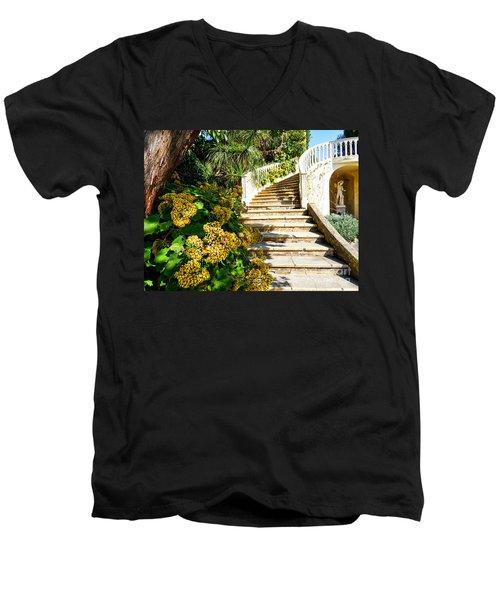 Bienvenue Men's V-Neck T-Shirt