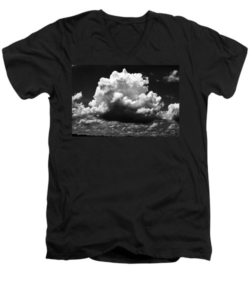 Big Cloud Men's V-Neck T-Shirt