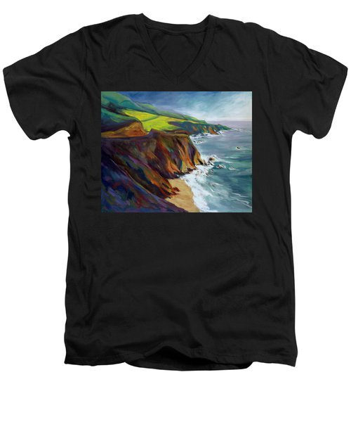 Big Sur 1 Men's V-Neck T-Shirt