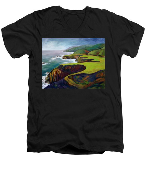 Big Sur 2 Men's V-Neck T-Shirt