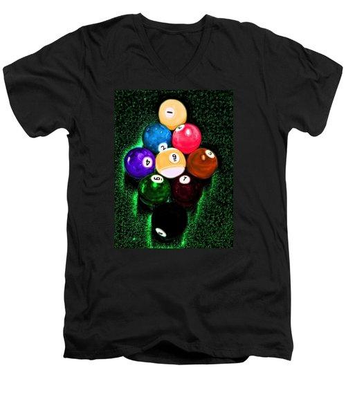 Billiards Art - Your Break Men's V-Neck T-Shirt