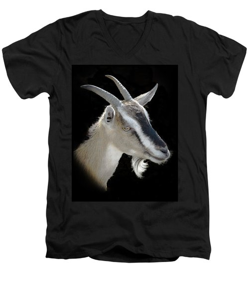 Billy Goat Men's V-Neck T-Shirt