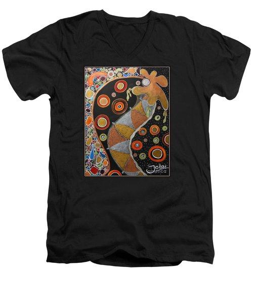Biological Rhythms.. Men's V-Neck T-Shirt