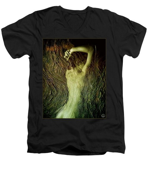Birth Of A Dryad Men's V-Neck T-Shirt
