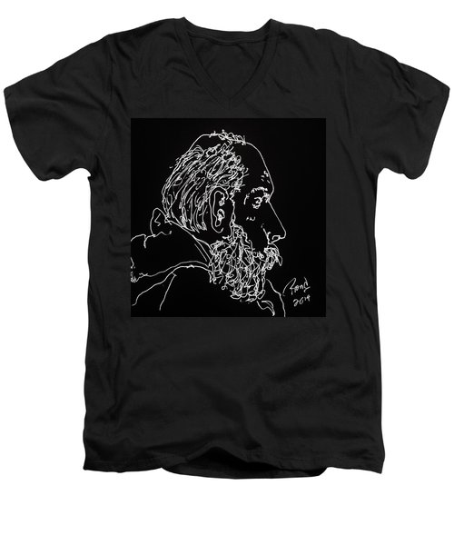 Black Book Series 05 Men's V-Neck T-Shirt