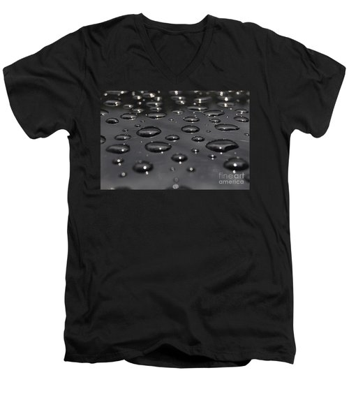 Black Rain Men's V-Neck T-Shirt