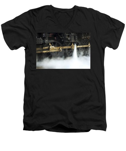 Blowing Of Steam Men's V-Neck T-Shirt