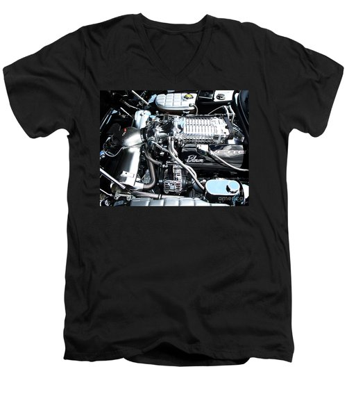 Blown 'vette Men's V-Neck T-Shirt