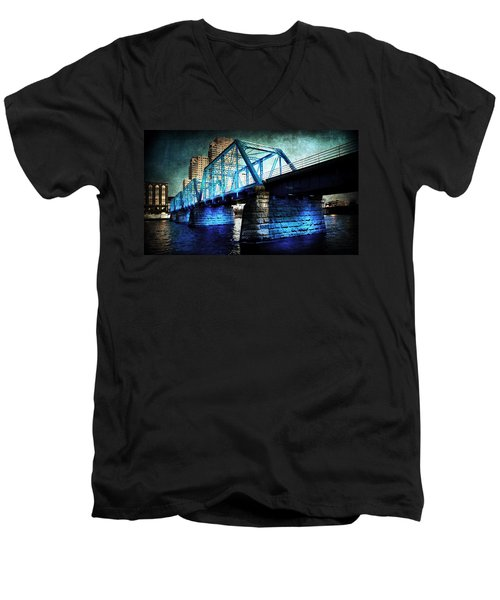 Blue Bridge Men's V-Neck T-Shirt
