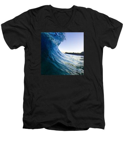 Blue Envelope  -  Part 1 Of 3 Men's V-Neck T-Shirt