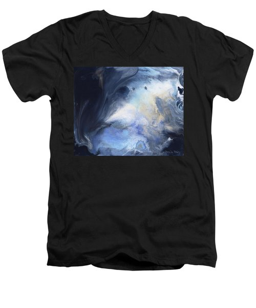 Blue Heavens Men's V-Neck T-Shirt