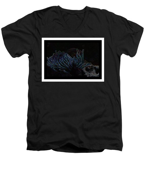 Blue Magic Light Fish  Men's V-Neck T-Shirt