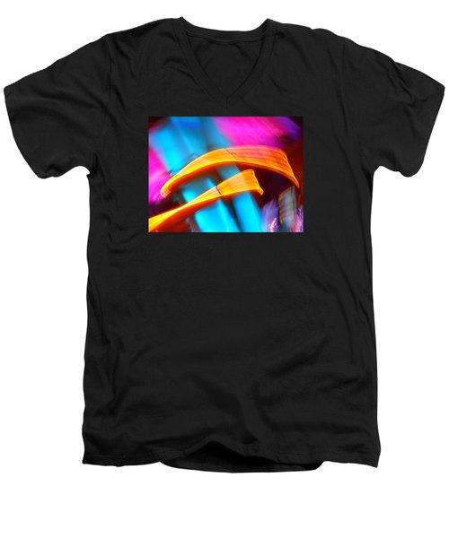Blue Tonado On Venus Men's V-Neck T-Shirt