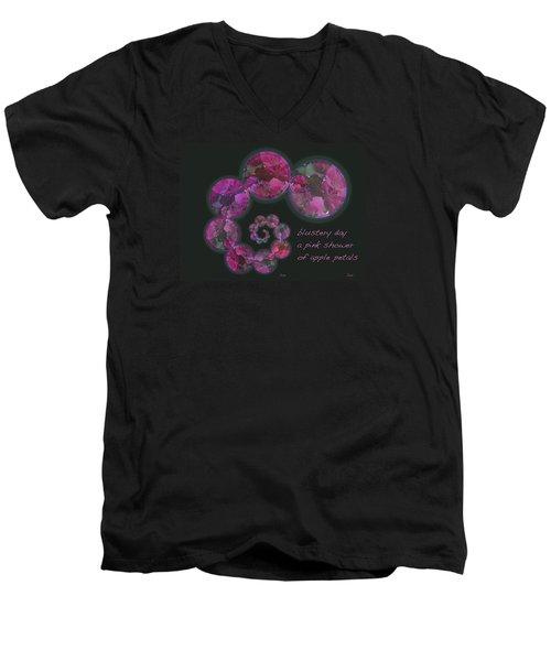 Blustery Day Haiga Men's V-Neck T-Shirt