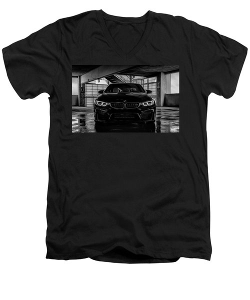 Bmw M4 Men's V-Neck T-Shirt by Douglas Pittman