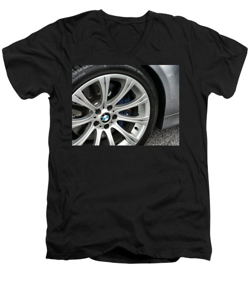 B M W M5 Men's V-Neck T-Shirt